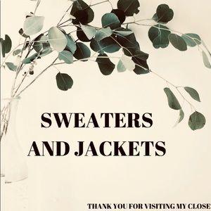 Sweaters & Jackets  ❤️ Jackets & Sweaterd